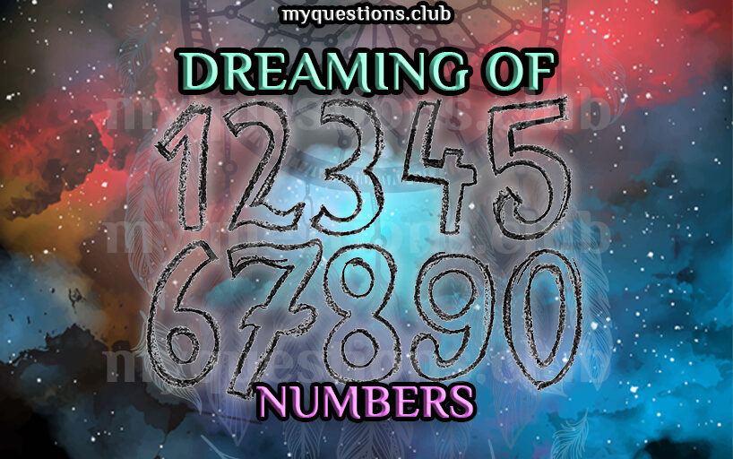 DREAMING OF NUMBERS