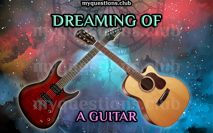 DREAMING OF A GUITAR