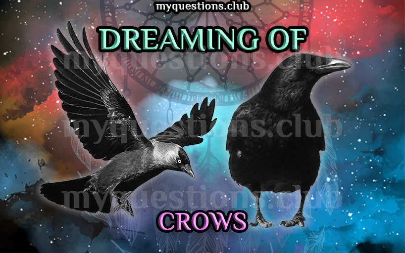 DREAMING OF CROWS