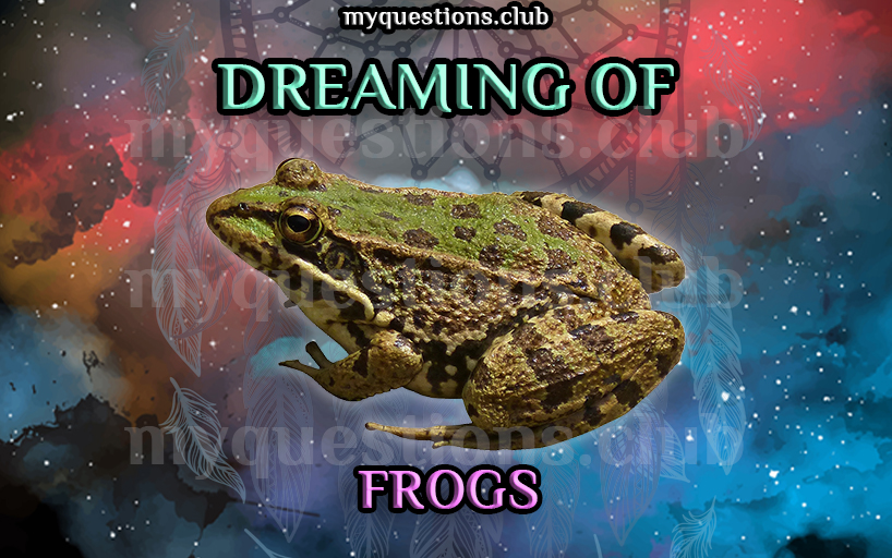 DREAMING OF FROGS