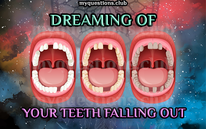 dreaming of your teeth falling out