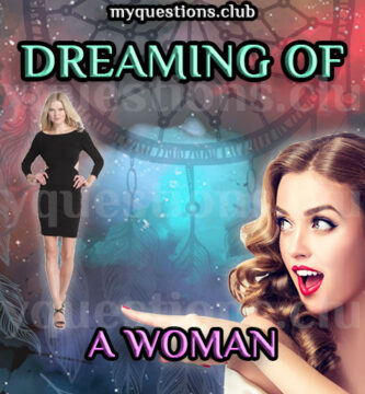 DREAMING OF A WOMAN