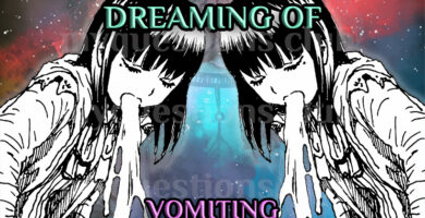 DREAMING OF VOMITING