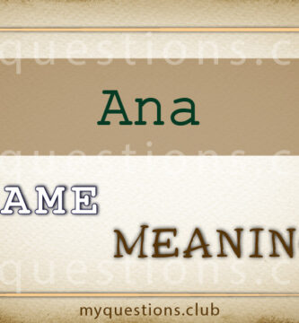 ANA NAME MEANING