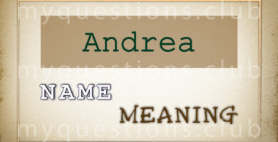 ANDREA NAME MEANING