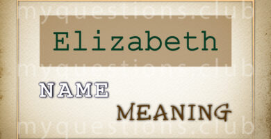 ELIZABETH NAME MEANING