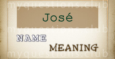JOSE NAME MEANING