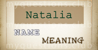 NATALIA NAME MEANING