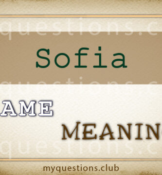 SOFIA NAME MEANING