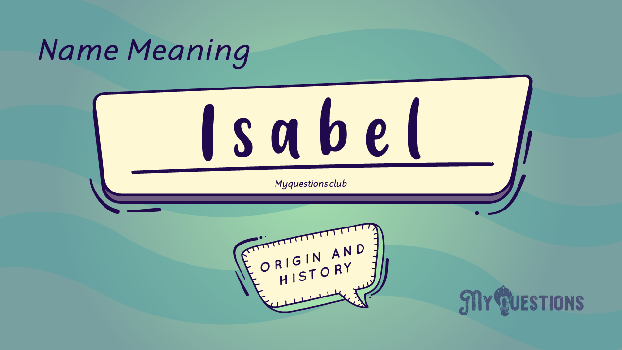 ISABEL NAME MEANING