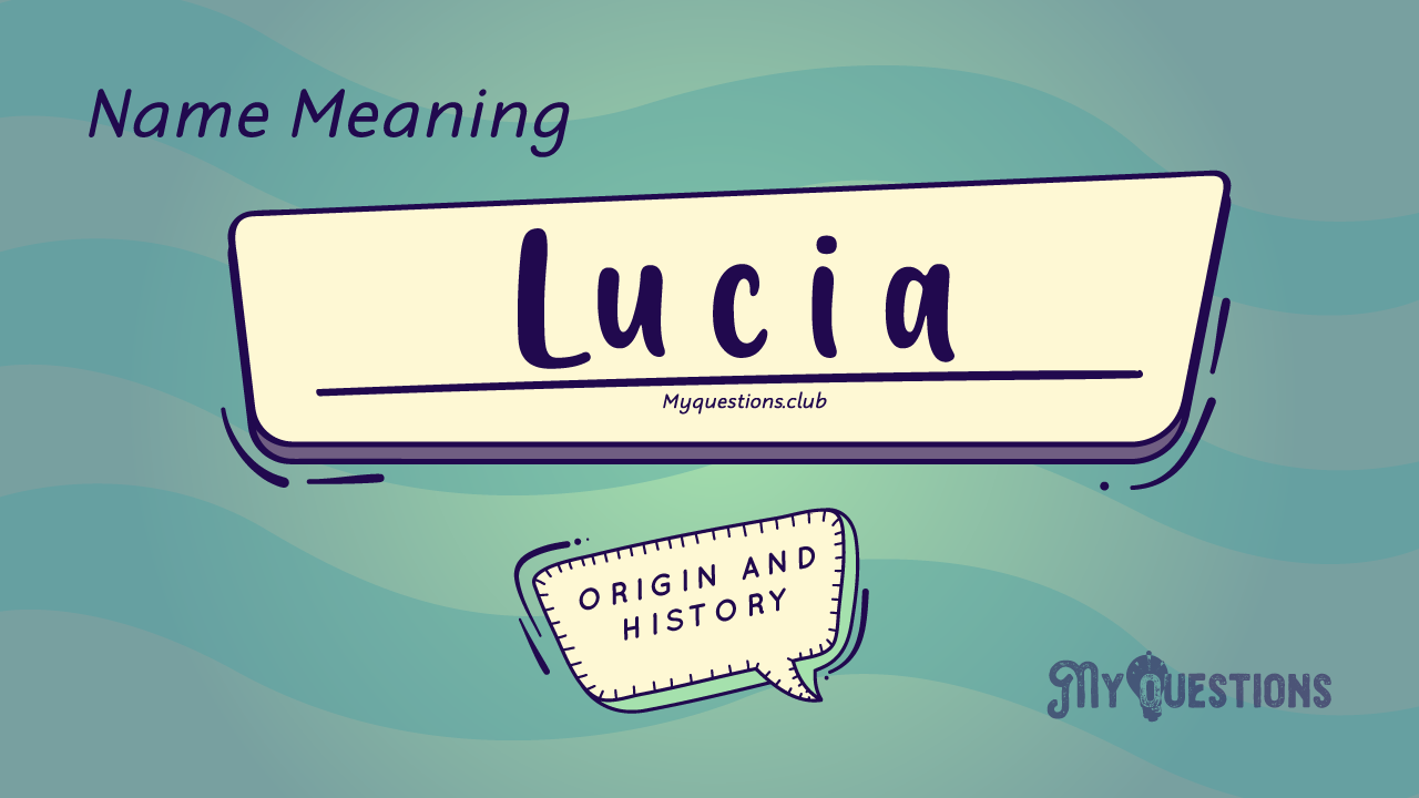 LUCIA NAME MEANING