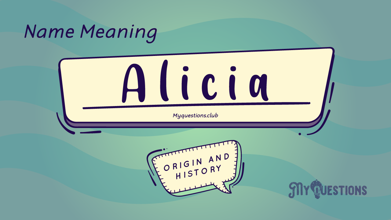 ALICIA NAME MEANING