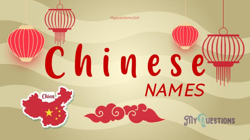 CHINESE NAMES