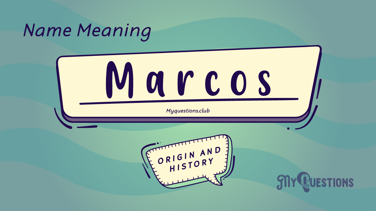 MARCOS NAME MEANING