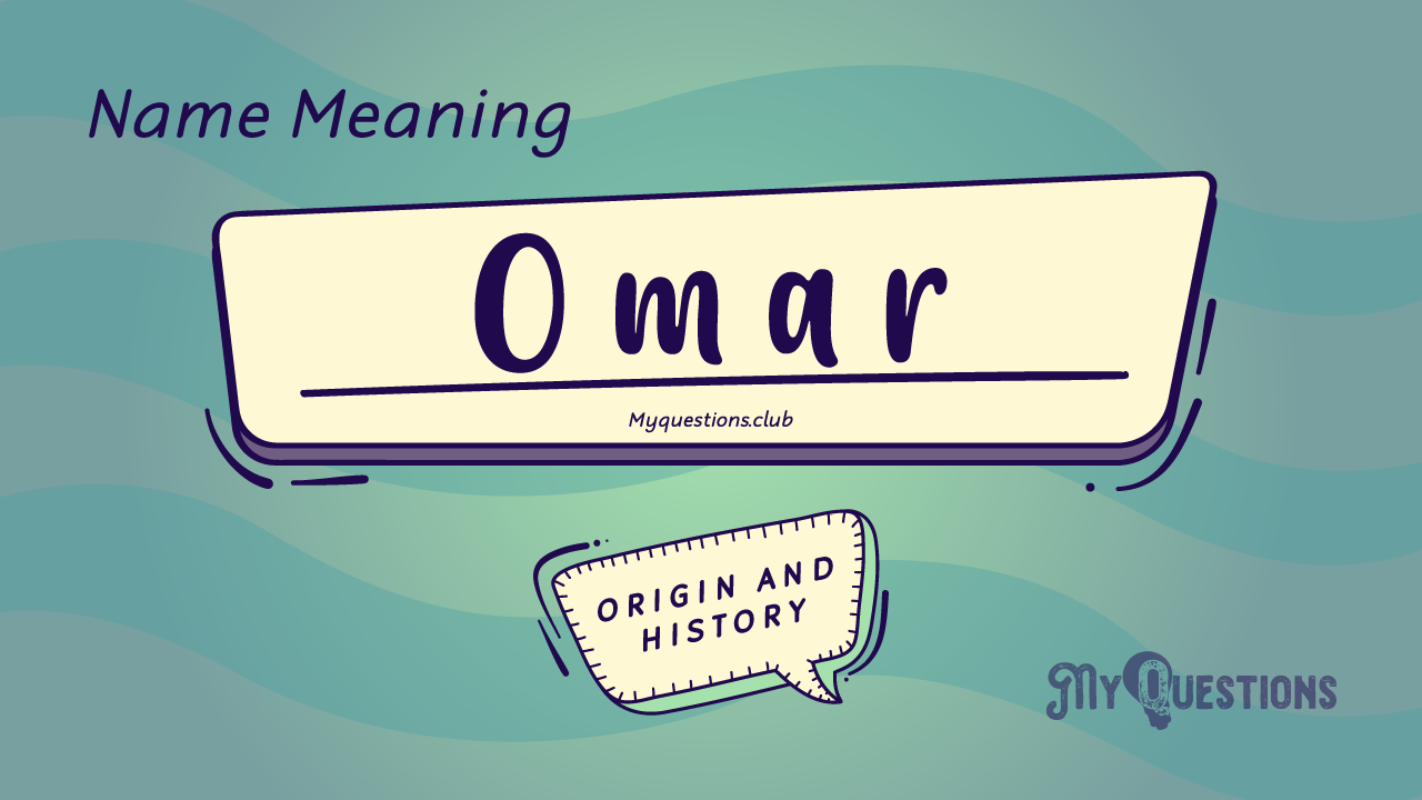 OMAR NAME MEANING