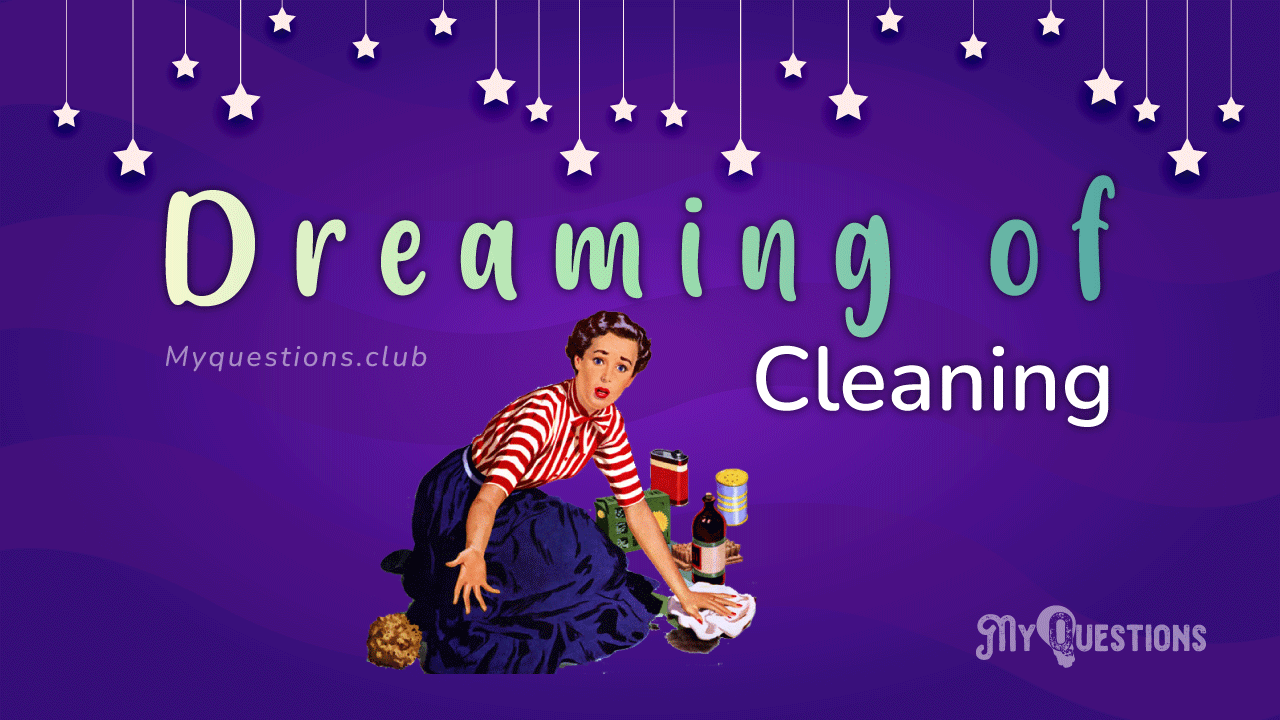DREAMING OF CLEANING