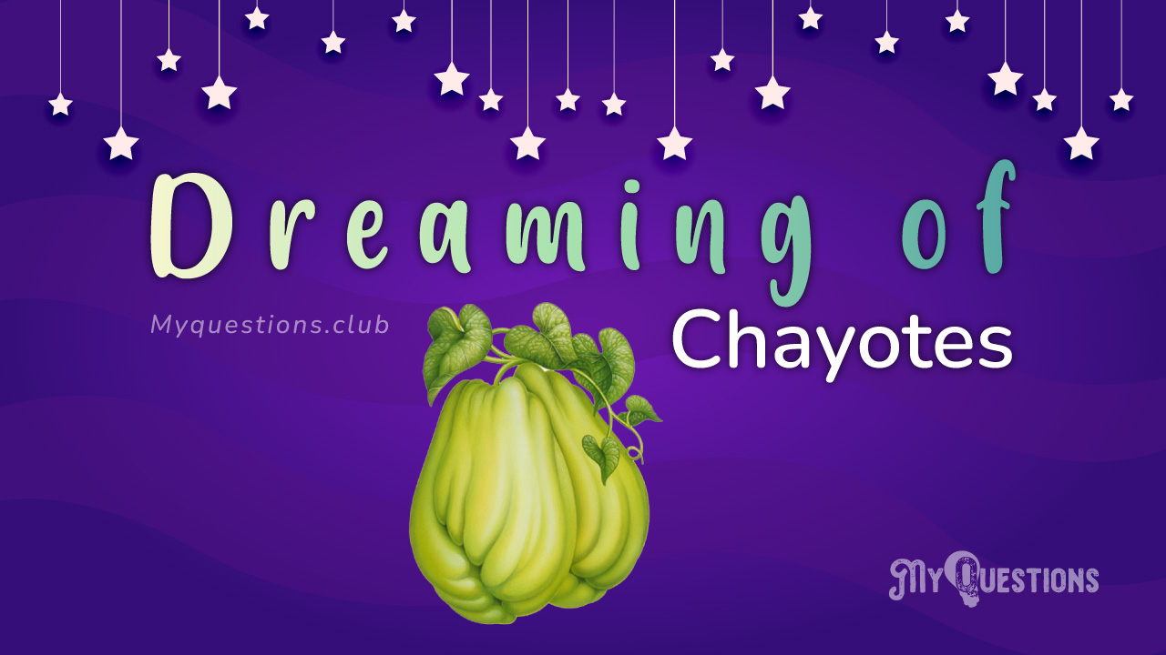 DREAMING OF CHAYOTES